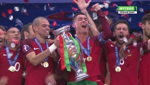 Ronaldo win euro