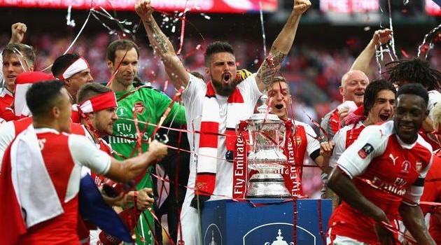 Арсенал стал обладателем Кубка Англии