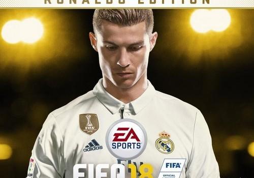 Роналду – новое лицо FIFA 18