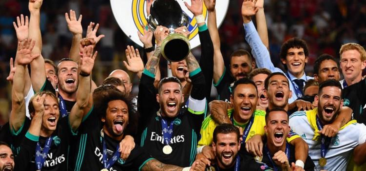 СуперКубок уефа 2017 Реал Мадрид Манчестер Юнайтед